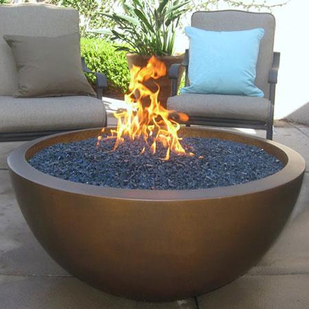 Fire pits enjoy your home for Outdoor fire bowl